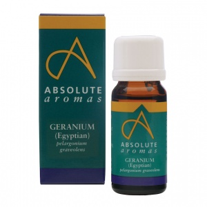 Absolute Aromas Geranium Egyptian Essential Oil – 10ml