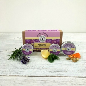 Bloom Remedies Body Butter & Balms Organic Gift Set