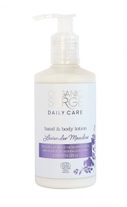 Organic Surge Lavender Meadow Hand and Body Lotion