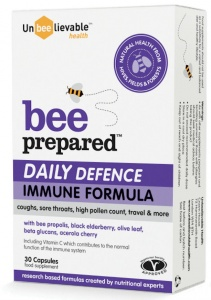Unbeelievable Bee Prepared Daily Defence - 30 Capsules