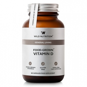 Wild Nutrition General Living Food-Grown® Vitamin D - 60 Capsules