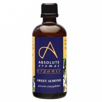 Absolute Aromas Organic Sweet Almond Oil - 100ml