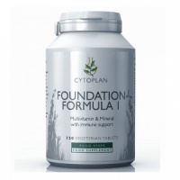 Cytoplan Foundation Formula 1 Multi Vitamin / Mineral - 120 Tablets