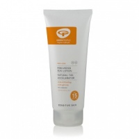 Green People Sun Lotion SPF15 with Tan Accelerator - 200ml