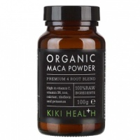 KIKI Health Organic Maca Premium 4 Root Blend Powder