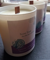 Scent Trail Lavender and Patchouli Aromatherapy Soy Candle