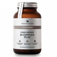 Wild Nutrition Food-Grown® B Complex Plus – 60 Capsules