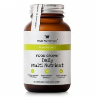 Wild Nutrition Food-Grown® Children's Daily Multi Nutrient – 60 Capsules