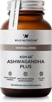 Wild Nutrtion Food-Grown® KSM-66 Ashwaganda Plus