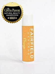 Fairfield Gardens Orange Natural  Lip Balm - 4.25g Tube