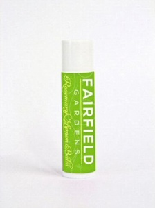 Fairfield Gardens Rosemary & Lemon Natural Lip Balm - 4.25g Tube