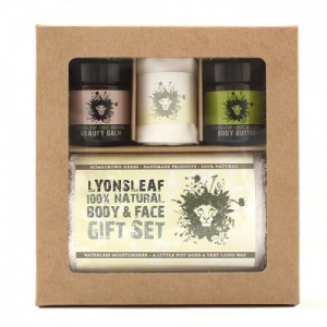 Lyonsleaf 100% Natural Body and Face Gift Set