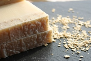 Scent Trail Honey and Oat Handmade Soap
