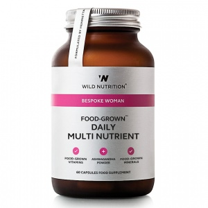 Wild Nutrition Bespoke Woman Food-Grown® Daily Multi Nutrient – 60 Capsules