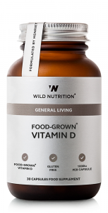 Wild Nutrition Food-Grown® Vitamin D - 30 Capsules