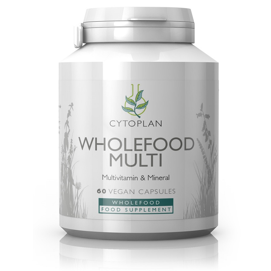 Cytoplan Wholefood Multivitamin and Mineral - 60 Capsules