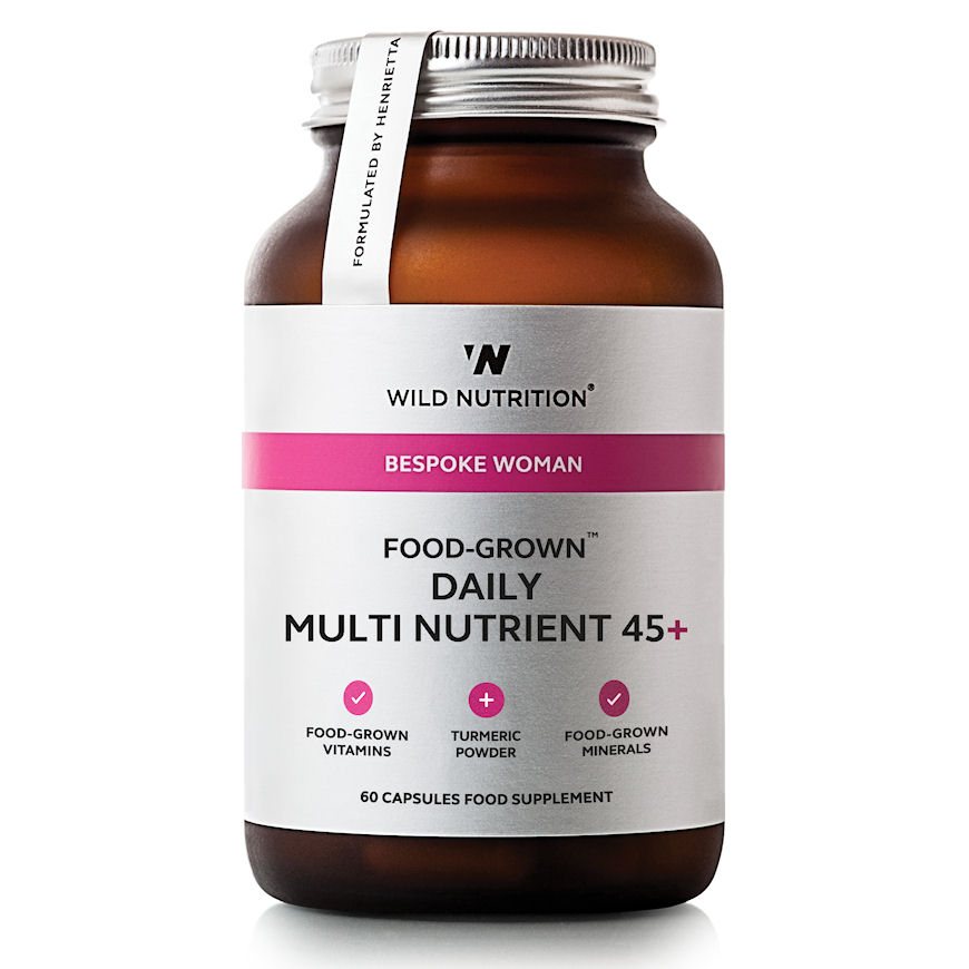Wild Nutrition Bespoke Woman Food-Grown® Daily Multi Nutrient 45+ – 60 Capsules