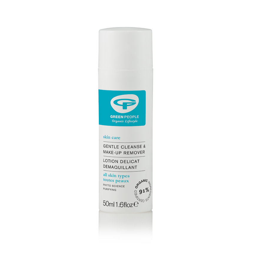 Green People Gentle Cleanse and Make-Up Remover - 50ml