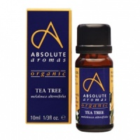 Absolute Aromas Organic Tea Tree Essential Oil – 10ml