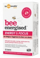 Unbeelievable Bee Energised - 20 Capsules