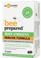 Unbeelievable Bee Prepared Max Strength - 20 Capsules