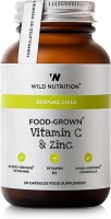 Wild Nutrition Food-Grown® Children's Vitamin C and Zinc