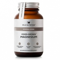 Wild Nutrition General Living Food-Grown® Magnesium - 60 Capsules