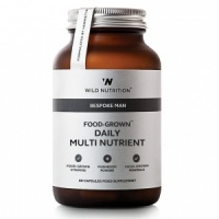 Wild Nutrition Food-Grown® Men's Daily Multi Nutrient – 60 Capsules